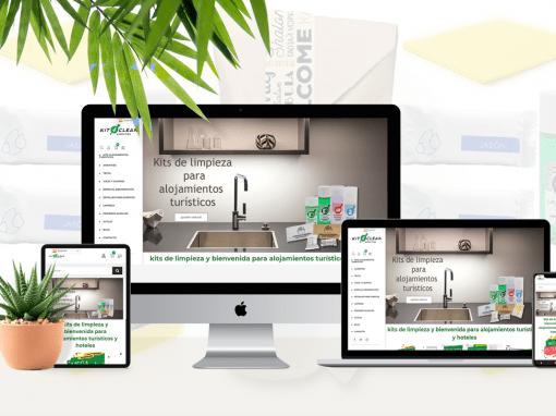 Diseño web Kit4clean