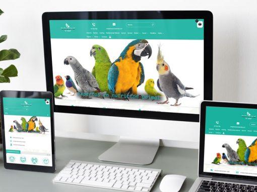 Diseño web Todoanimalelvidal