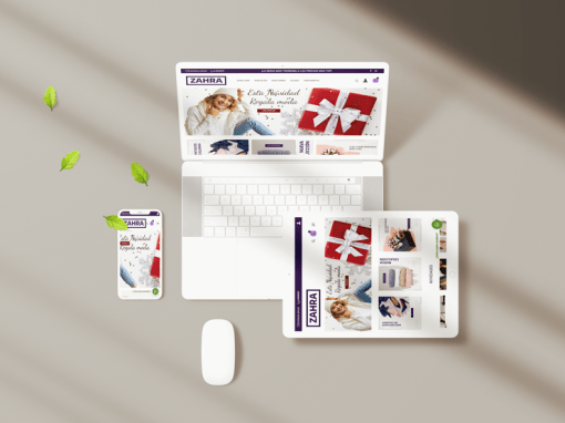Diseño web Modazahra